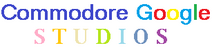 Commodore Google Studio Logo