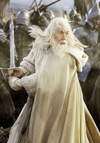 Gandalf the White Blaack Gate 1