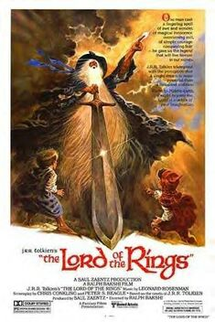 The Lord of the Rings (1978) poster 1