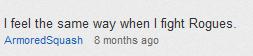 Horrible Comment