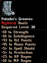 Level 30 Paladin's Greaves