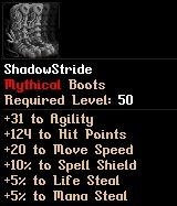Level 50 ShadowStride