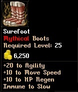 Level 25 Surefoot