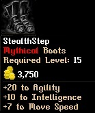 Level 15 StealthStep