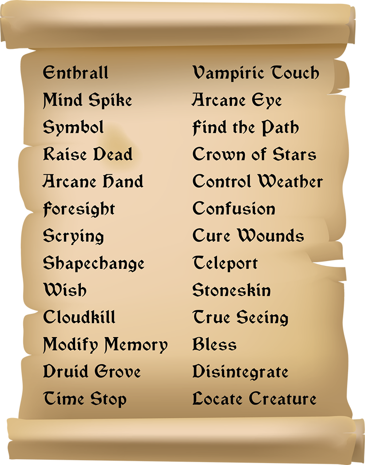 Puzzle - Spell List | Immortal Fortress Wiki | FANDOM powered by Wikia