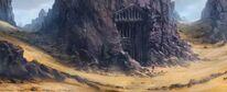 Fortress - Desert tomb