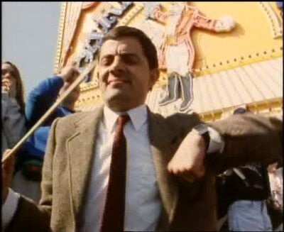 Mr bean bow8
