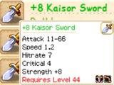 Kaisor Sword