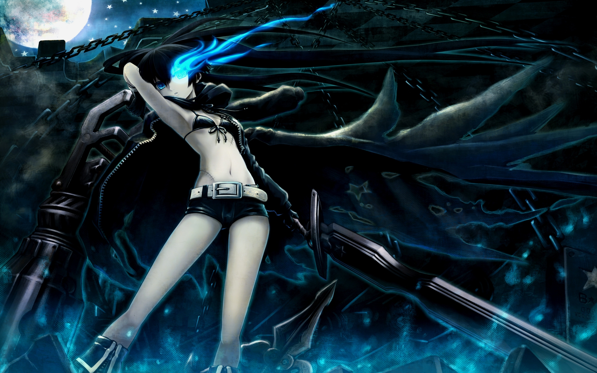 Black Rock Shooter Shoes