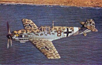 Bf 109 Cat
