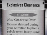 Explosives Clearance