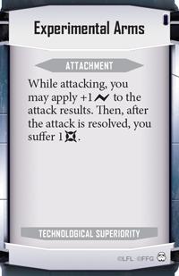 Experimental-arms