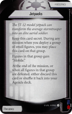 Jetpacks (Agenda Card)