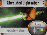 Shrouded Lightsaber