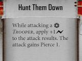 Hunt Them Down (Reward Card)