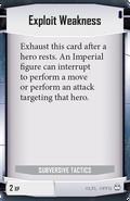 Exploit-weakness