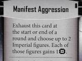 Manifest Aggression