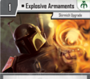 Explosive Armaments