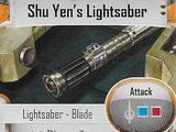 Shu Yen's Lightsaber