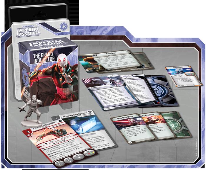 Grand inquisitor villain pack
