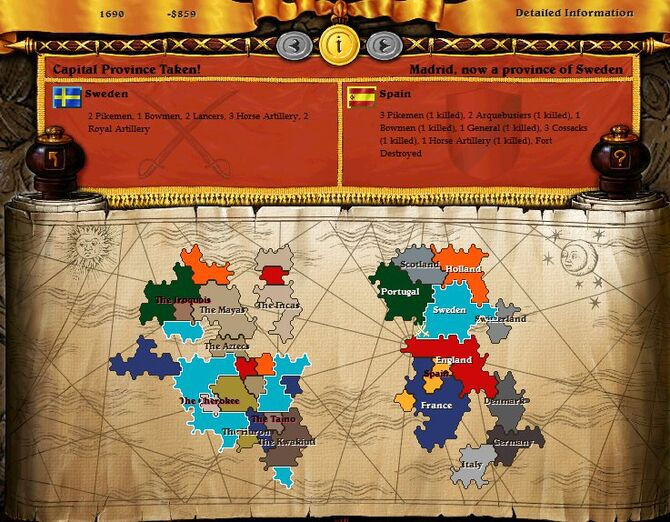 Imperialism Game Wiki FANDOM Powered By Wikia - Sweden map game