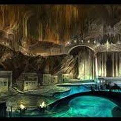Kamienna Włócznia – część bogatych górników, wydobywców
