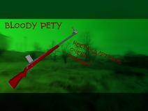 Bloody pety