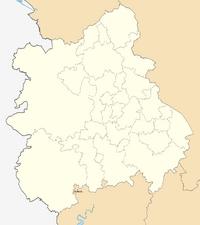 Dymock loacator map.