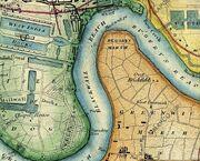 Greenwich Peninsula 1872