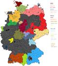 DD62 Germany's map 1977