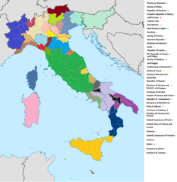 DD62 Italy nations location map