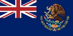 British Mexico Flag