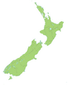 New Zealand location map transparent