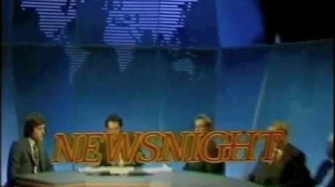 Newsnight - c1980