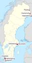 Sweeden euro locations