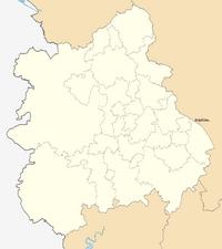 Hinckley locator map.