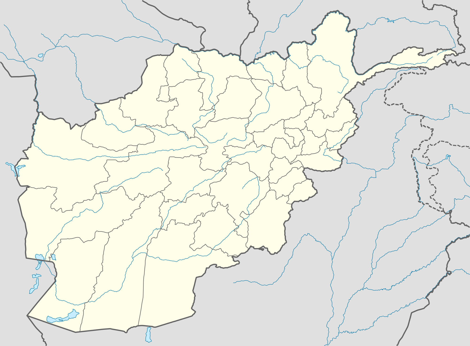 Image - Afghanistan province-location map..png | Implausable ...