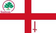 ATL dd62 Flag of Sutton village