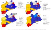 Federal gerneral election map, Worcester UDI 1996