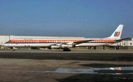 United Air Lines DC-8-61