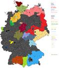 DD62 Germany's map 1974