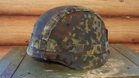 German Kevlar Helmet