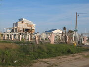Pascagoula destroyed condos from Katrina