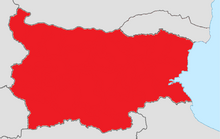 Bulgariaa map