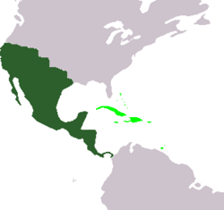 Map of British Mexico