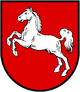 Coat of arms of Lower Saxony.