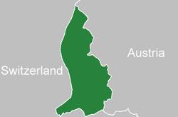 Location Liechtenstein
