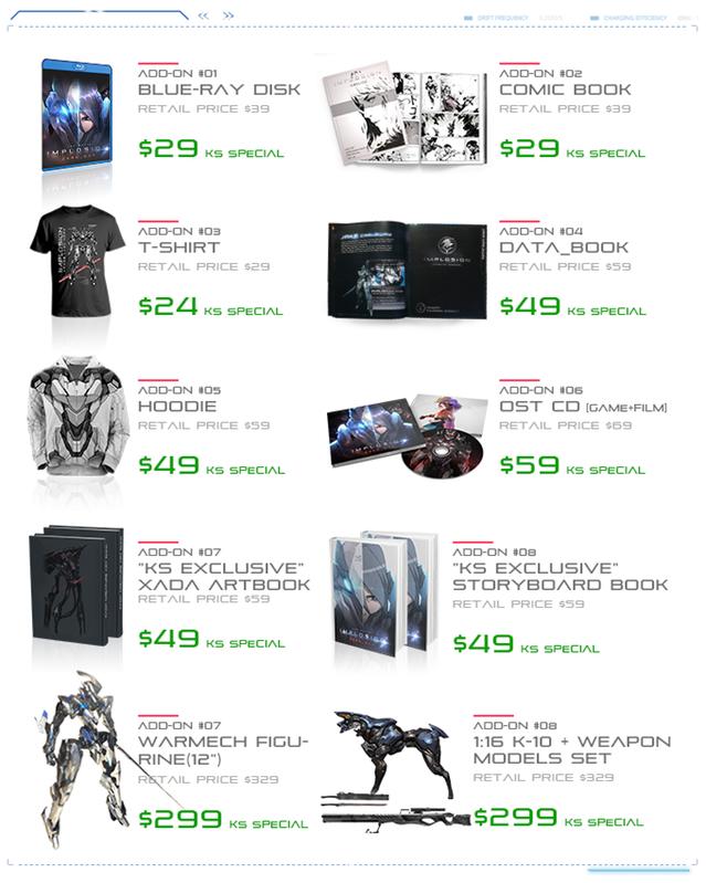 IZD merchandise list