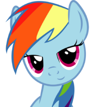 Dat eyes rainbow dash by slyfoxcl-d5c7orf
