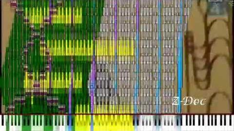 Black MIDI Rainbow Tylenol Rainbow TROLOLOL 1.5 Million Notes
